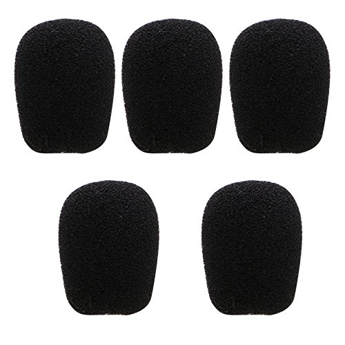 SimpleLife 5-Pack-Schaumstoff-Mic-Headset-Headset mit Windschutz