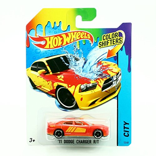 Hot Wheels Color SHIFTERS City '11 Dodge Charger R/T 25/48 by