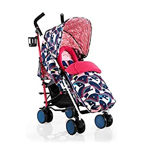 Cosatto Supa 2018 Baby Stroller, Suitable from Birth to 25 kg, Magic Unicorns   7