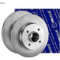 Vorne ATE P-A-01-00706 Bremsen Set 2 Bremsscheiben Vorne /Ø 240 Bel/üftet Bremsbel/äge Mit Akustischer Verschlei/ßwarnung