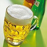 Arcoroc Lot de 4 chopes de bière traditionnelles en verre