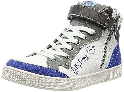 BULLBOXERAEFF5S530 - Scarpe da Basket Bambino , Blu (Blau (BLGY)), 36