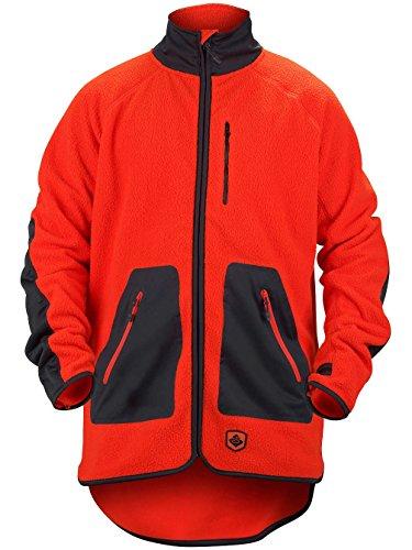 Sweet Protection Herren Jacket Lumberjack Fleece Cody Orange, L (Ski Carbon Freeride)