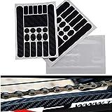 Homewind Fahrrad-Aufkleber, Kettenstangen-Rahmen, Schutz für Fahrrad, MTB BMX, Mountainbike, Kettenschutz, klappbares Fahrradrahmen-Klebeband