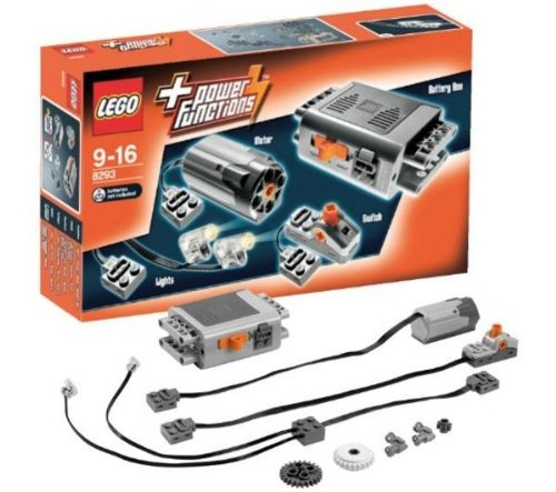 Technic-Power-Functions-set-8293-Technic-Logging-Truck-9397