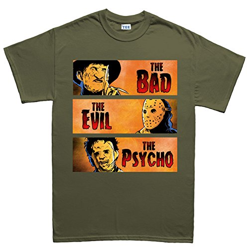 (Halloween Bad Evil Psycho Party Costume T shirt)