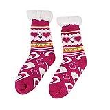 XuxMim Frauen-Bett-Socken-Liebes-Herz-flaumiges warmes Winter-Geschenk