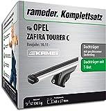 Rameder Komplettsatz, Dachträger Relingträger Kamei für OPEL Zafira Tourer C (135345-09717-5)