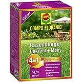 Compo floranid–Fertilizante abono contra las malas hierbas + musgo 4in1, 4,5kg