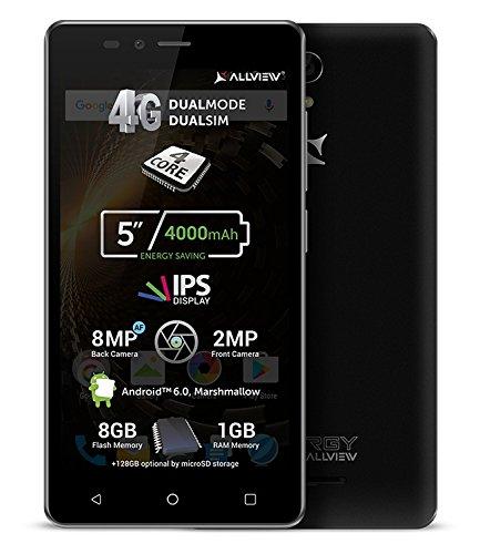 'Allview P6Energy Lite–Batería 4000mAh, Dual SIM 4G Dual Mode, Quad Core, 5IPS...