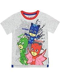 PJ MASKS Boys Catboy Owlette Gekko T-Shirt Ages 3 to 10 Years 97ae029f72e1
