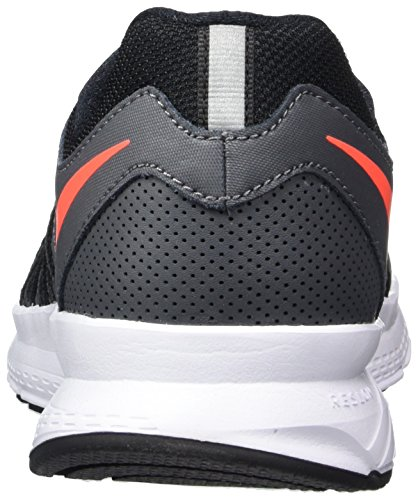 Nike Air Relentless 6, Scarpe da Corsa Uomo Grigio (Dark Grey / Hyper Orange / Black / White)