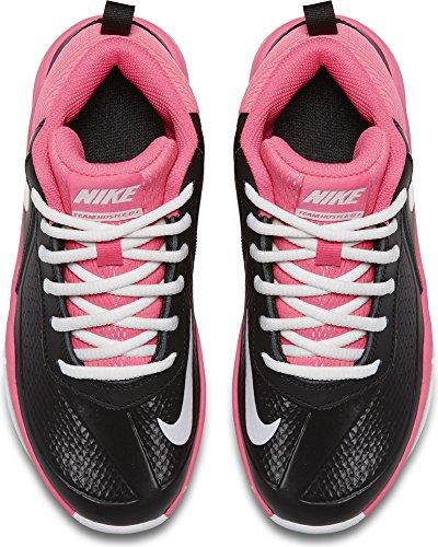 Nike enfants équipe Hustle D 7 (ps) Basketball Shoe Black/White/Hyper Pink