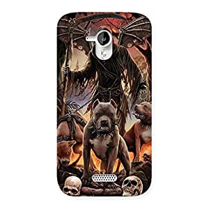 Sin Ghost Back Case Cover for Micromax Canvas HD A116