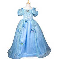 Eyekepper Le ragazze cinghie Princess Dress Birthday Party Ball (Costumi Birthday Party Dress)