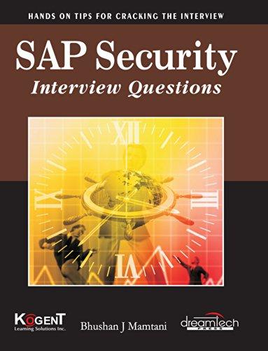 Sap Security Interview Questions par Bhushan J Mamtani
