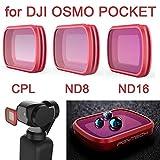 Beisoug 2019 el Mejor Accesorio para dji OSMO Pocket Soporte de sujeción de Montaje de Bicicleta Soporte de Soporte para dji OSMO Pocket Handheld Gimble CAM