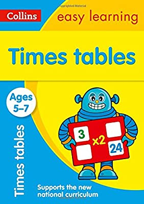 Times Tables Ages 5-7: New Edition (Collins Easy Learning KS1) from Collins