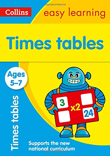 Times Tables Ages 5-7: New Edition (Collins Easy Learning KS1) por Collins Easy Learning