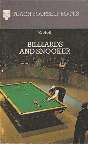 Billiards and Snooker (Teach Yourself) por Richard Holt