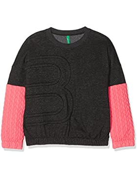 United Colors of Benetton Sweater L/S, Sudadera para Niñas