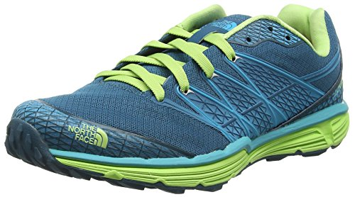 The North Face Litewave, Damen Laufschuhe, Blue (Blue Coral/Budding Green Enu), 36 EU (3 UK) (North Running Shoes Face)