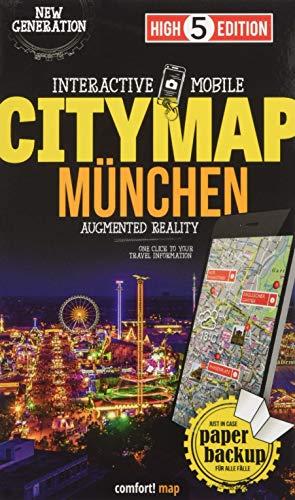 Interactive Mobile CITYMAP München: Stadtplan München 1:16 000 (High 5 Edition CITYMAP Collection)