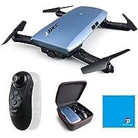 Drone Pliable de transmission de 720P WIFI FPV, JJRC H47 Quadcopter de drone d'Elfie, Selfie avec le contrôle de G-capteur, mode d'altitude RTF