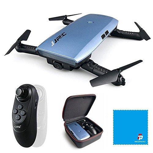 JJRC H47 ELFIE Added Quadcopter 720P WIFI FPV Faltbare Selfie Drone Mit Seriousness Sensor Kopfloser Modus Höhenhaltemodus RTF - Blau