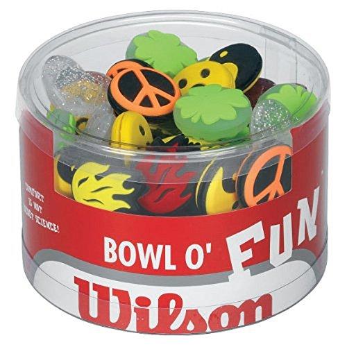 Wilson Bowl o Fun Dämpfer - 75 Stück gemischt