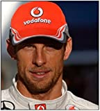 Vodafone McLaren Mercedes Men's 2013 Jenson Button Cap by McLaren