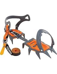 Climbing Technology Nuptse Evo classic - Crampones - gris/naranja 2016