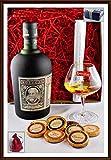 Botucal Reserva Exclusiva Rum Geschenk Set mit 9 DreiMeister Edel Schokoladen & 1 Perfect Nosing Glas, kostenloser Versand