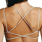 TININNA Sexy Dos nu Bikini Soutien-Gorge Maillots de Bain Push-up Bandage Bra Beachwear Tank Top Veste