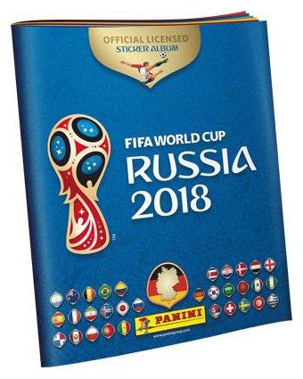 Stickeralbum FIFA WM World Cup Russia 2018 (gebundene Ausgabe) Leeres Album, Ohne Sticker ()