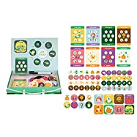 tyhmnoiiu Magnetic Lifecycle Frog Animal Puzzles Pen Painting Board Kids Teaching Aids Toy, Funny Kids Toys