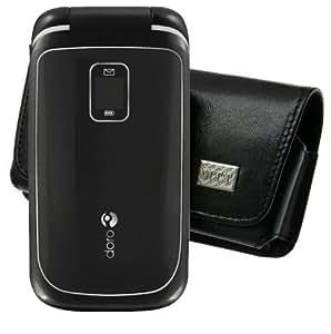 Original MTT Quertasche fuer / Doro PhoneEasy 610gsm / Horizontal Tasche Ledertasche Handytasche Etui mit Clip und Sicherheitsschlaufe*