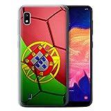 eSwish Coque Gel TPU de Coque pour Samsung Galaxy A10 2019 / Portugal Design/Nations...