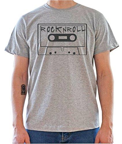 DreamGirl Cassette, Rock'n'Roll Artwork Mens T-Shirt XX-Large