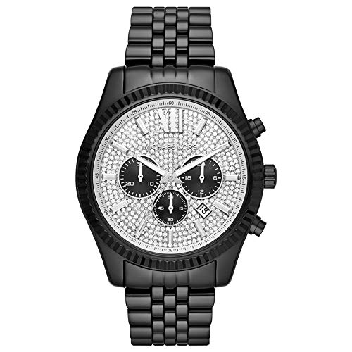 Michael Kors Men's Analogue Quartz Watch with Stainless Steel Strap MK8605
