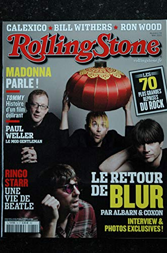 ROLLING STONE 074 L 14199 Cover BLUR Madonna Calexico Bill Withers Ron Wood Ringo Starr (Stone Magazin-cover Rolling)
