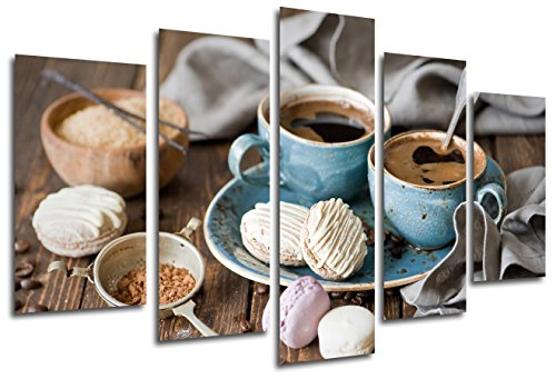 Cuadro Moderno Fotográfico Cafe, 165 x 62 cm ref. 26327