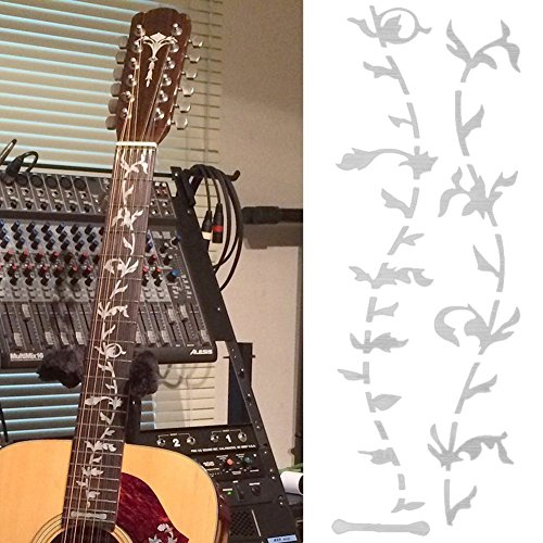 Electric/Acoustic Guitar Inlay Stickers- Tree  available at amazon for Rs.350