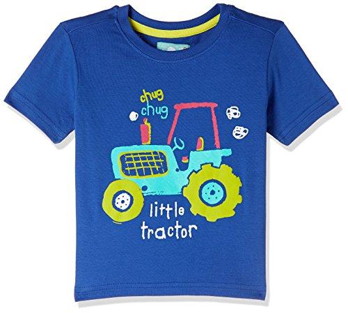 nauti nati Baby Boys' Starred Regular Fit T-Shirt (NSS18-930-2Y_Royal-Blue)