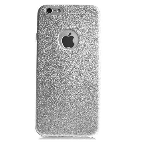 MYCASE Glitzer Schutz Hülle TPU für Apple iPhone 4 4s Bling Weich Hülle Strass Weich Silikon Dünn Tasche Glitzer Handy Cover Case (Phone 4 Strass I Cover)