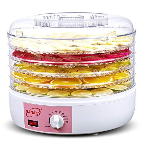 5 Tray Food Dehydrator Maschine Professionelle elektrische