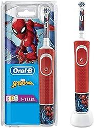 Oral-B Kids Elektryczna Szczoteczka do Zębów, Czerwony, Od 3 Lat
