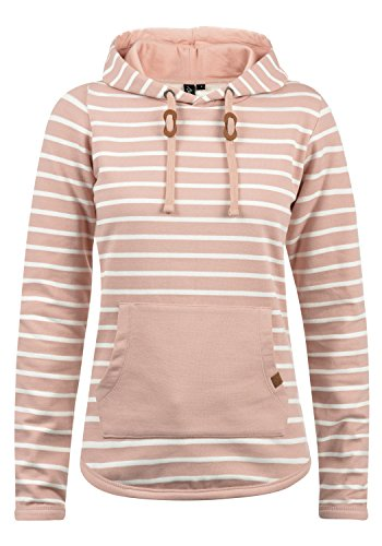 n Hoodie Kapuzenpullover Pullover Mit Kapuze, Größe:L, Farbe:Misty Rose (20205) ()