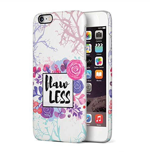 Save Me, In JPG or PDF? Apple iPhone 6 / iPhone 6S SnapOn Hard Plastic Phone Protective Custodia Case Cover Flawless Waterpaint