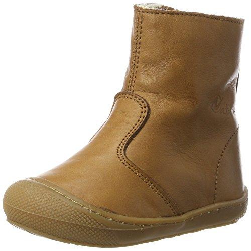 Naturino Baby Jungen 4154 Klassische Stiefel, Braun (Leder), 24 EU -